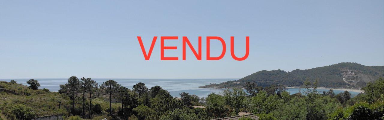 Favone: Villa T-5 VUE MER PANORAMIQUE et COMPLÈTEMENT RÉNOVÉE, à 700m. de la plage à pieds.