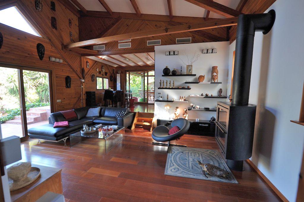 Secteur résidentiel du Salario : MAISON D'ARCHITECTE ossature bois.