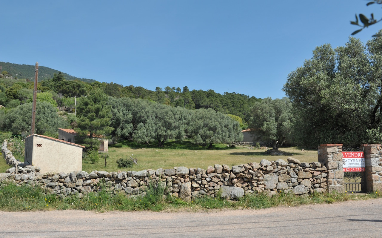 Terrain à batir Borivoli, centre du hameau.